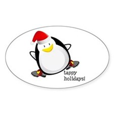 Tappy Holidays! by DanceShirts.com Decal