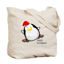 Tappy Holidays! by DanceShirts.com Tote Bag