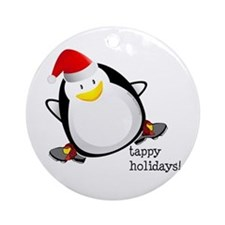 Tappy Holidays! by DanceShirts.com Ornament (Round