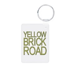 The Yellow Brick Road Wizard of Oz Keychains