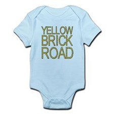 The Yellow Brick Road Wizard of Oz Infant Bodysuit