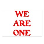 WE ARE ONE XXV Postcards (Package of 8)
