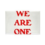 WE ARE ONE XXV Rectangle Magnet (10 pack)