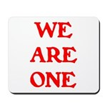 WE ARE ONE XXV Mousepad