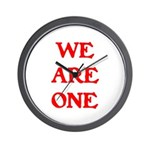 WE ARE ONE XXV Wall Clock