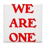 WE ARE ONE XXV Tile Coaster