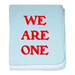 WE ARE ONE XXV baby blanket