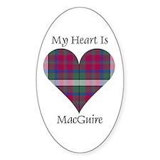 Heart - MacGuire Decal