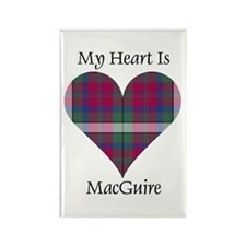 Heart - MacGuire Rectangle Magnet