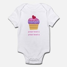 PERSONALIZE Fruit Cupcake Onesie