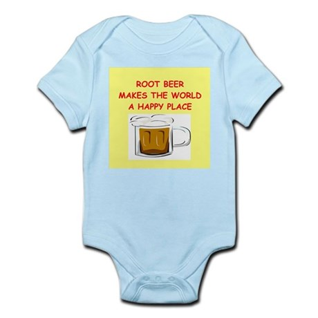 root beer Infant Bodysuit