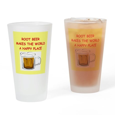 root beer Drinking Glass