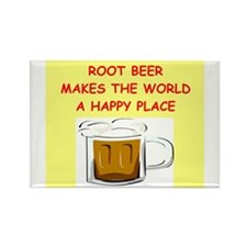 root beer Rectangle Magnet (100 pack)