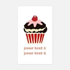 PERSONALIZE Vanilla Cupcake Decal
