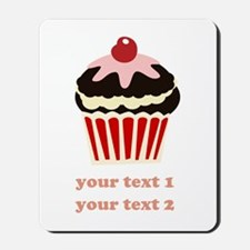PERSONALIZE Vanilla Cupcake Mousepad