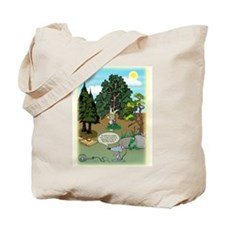 'Clever Hunter' Tote Bag