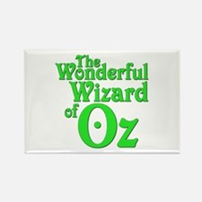 The Wonderful Wizard of Oz Rectangle Magnet