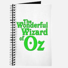 The Wonderful Wizard of Oz Journal