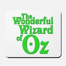 The Wonderful Wizard of Oz Mousepad