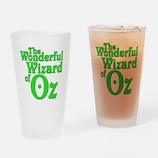 The Wonderful Wizard of Oz Drinking Glass