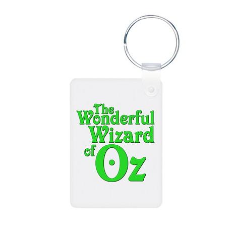 The Wonderful Wizard of Oz Aluminum Photo Keychain