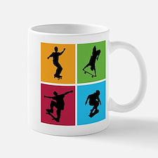 Nice various skating Small Small Mug