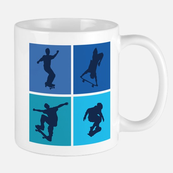 Nice various skating Mug