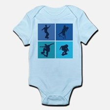 Nice various skating Infant Bodysuit