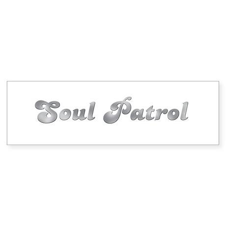 Cool Soul Patrol Bumper Sticker