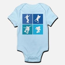 Nice various skating Infant Bodysuit