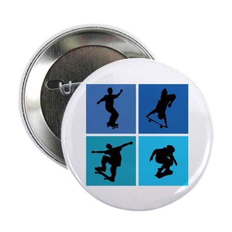 "Nice various skating 2.25"" Button (100 pack)"