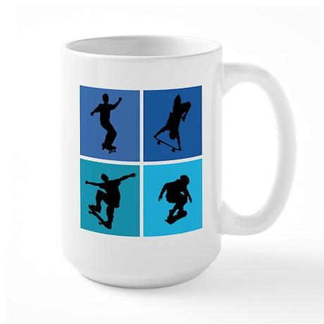 Nice various skating Large Mug