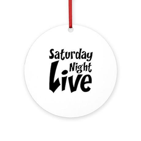 Saturday Night Live SNL Ornament (Round)