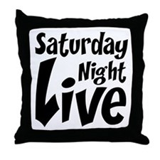 Saturday Night Live SNL Throw Pillow