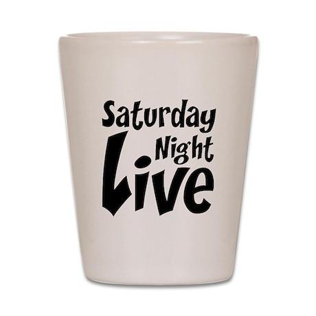 Saturday Night Live SNL Shot Glass