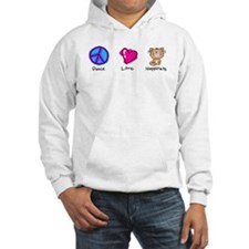Peace Love and Cats Hoodie