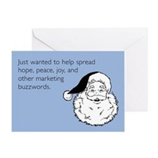 Holiday Buzzwords Greeting Card