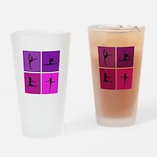 Nice various dancing Drinking Glass