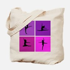 Nice various dancing Tote Bag