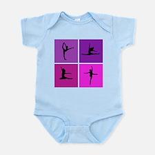 Nice various dancing Infant Bodysuit