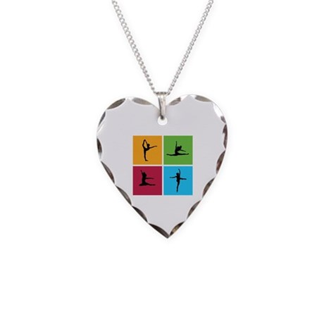 Nice various dancing Necklace Heart Charm