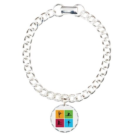 Nice various dancing Charm Bracelet, One Charm