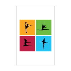 Nice various dancing Posters