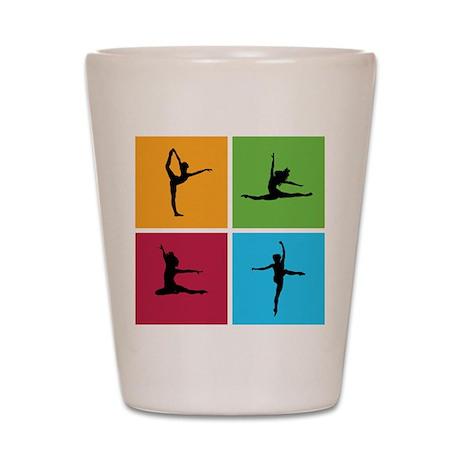 Nice various dancing Shot Glass
