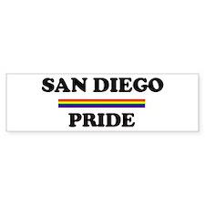 SAN DIEGO Pride Bumper Bumper Sticker