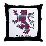 Lion - MacGuire Throw Pillow