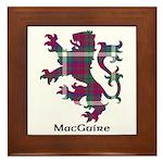 Lion - MacGuire Framed Tile