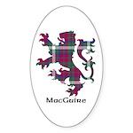 Lion - MacGuire Sticker (Oval 50 pk)