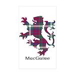 Lion - MacGuire Sticker (Rectangle 10 pk)