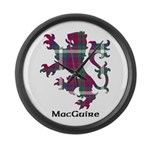Lion - MacGuire Large Wall Clock